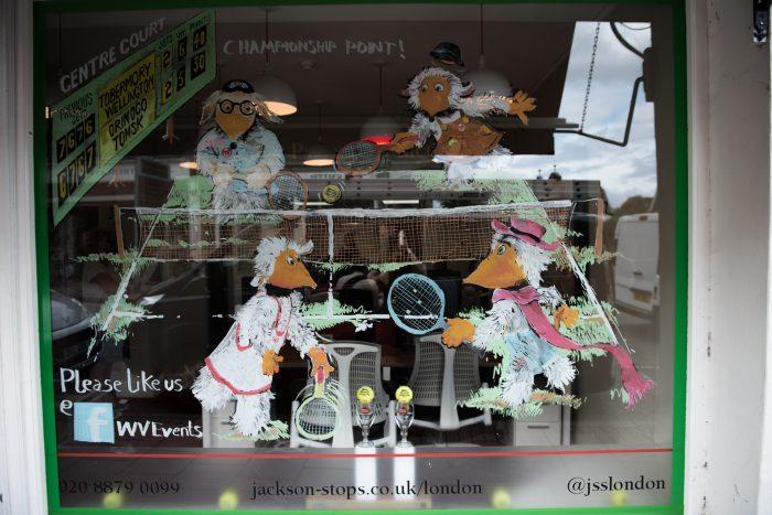 Jackson Stops & Staff Wimbledon