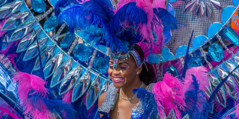 Notting Hill Carnival 2017 Bank Holiday Weekend August Lady Wimbledon