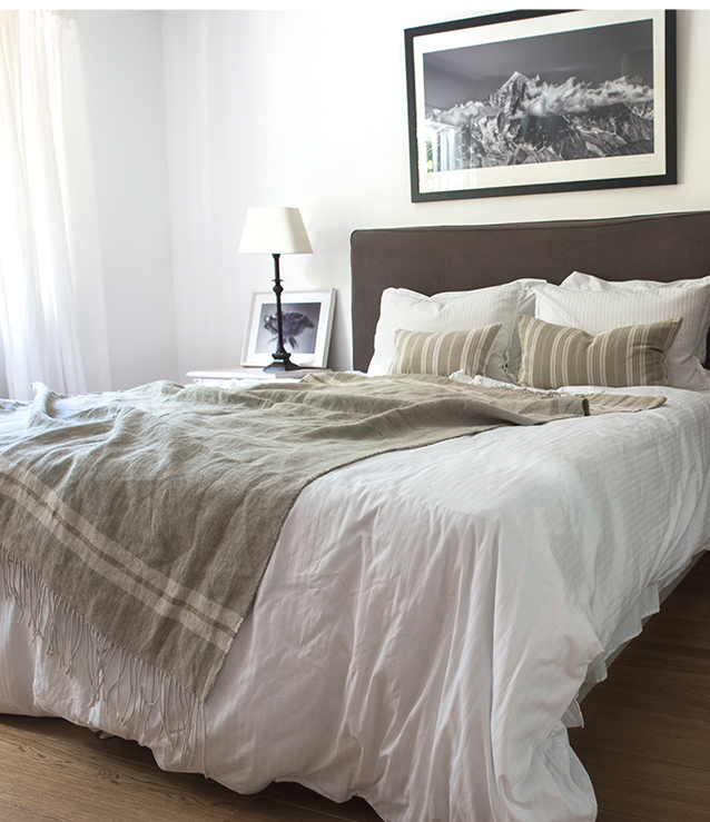 White theme for a house