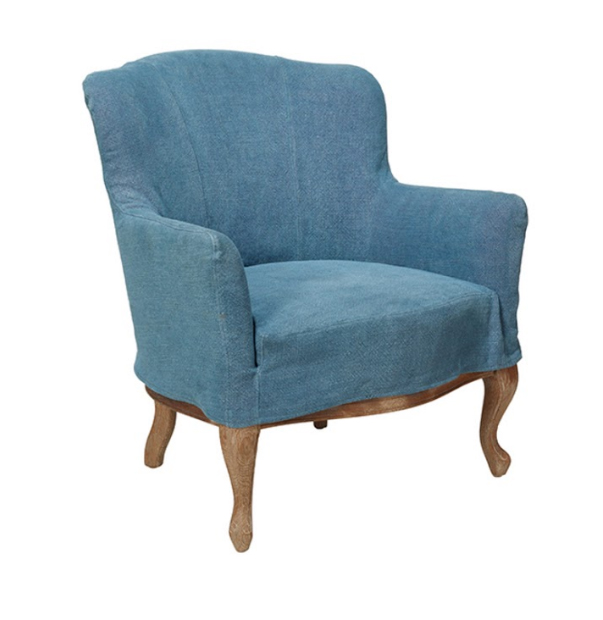 OKA Blue Furniture Chair