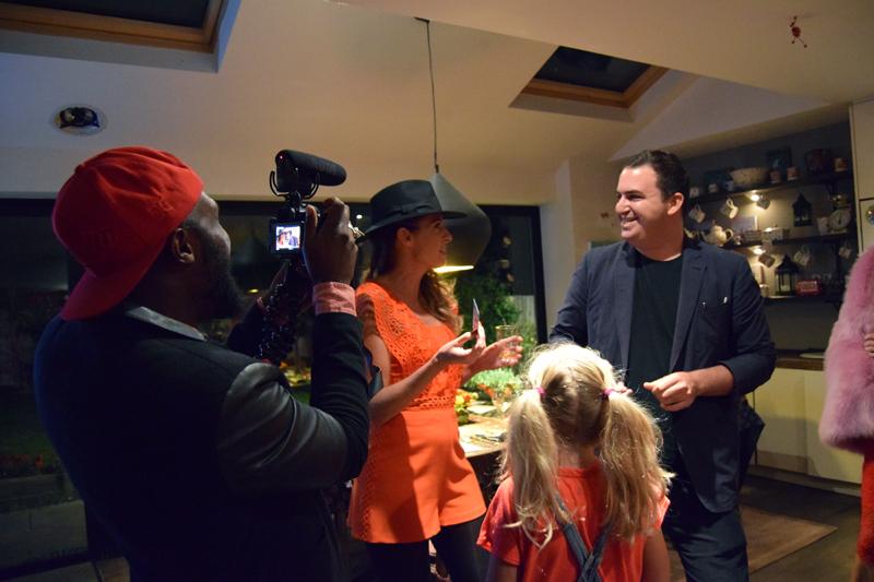 Lady Wimbledon Supper Club 2017 Vlogger Anthony Brown Magic Man London
