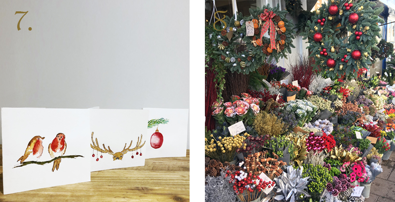 Wellbeing Christmas Art
