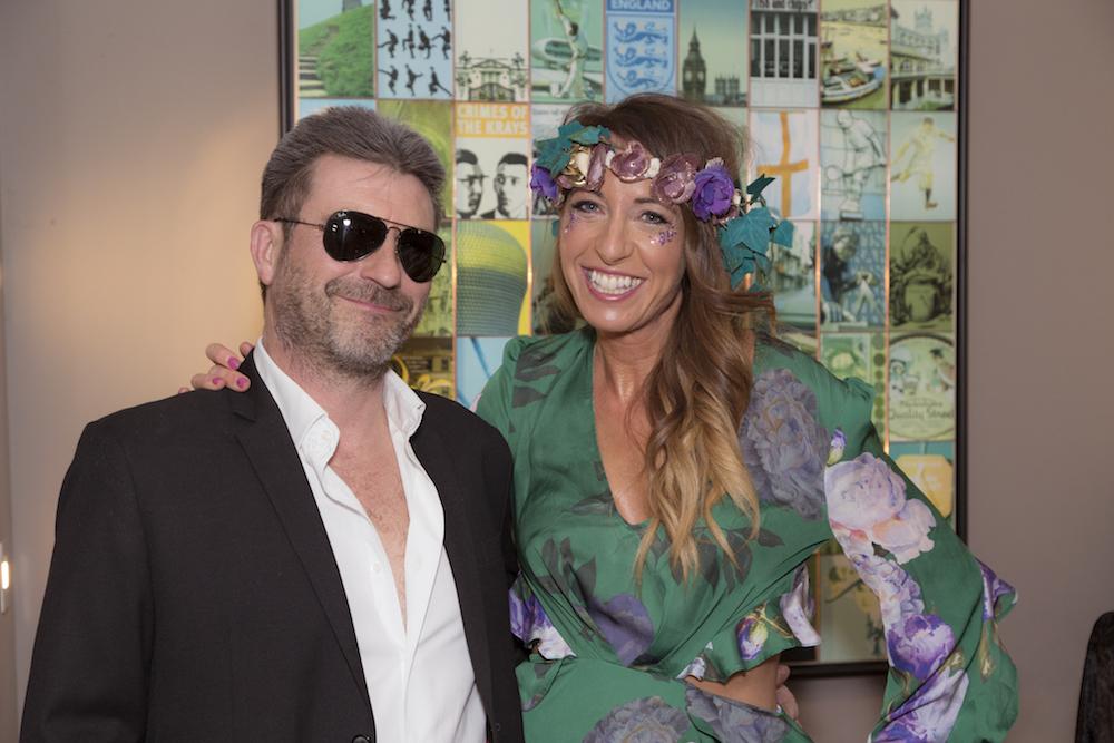 Lady Wimbledon & Simon Cowell Lookalike
