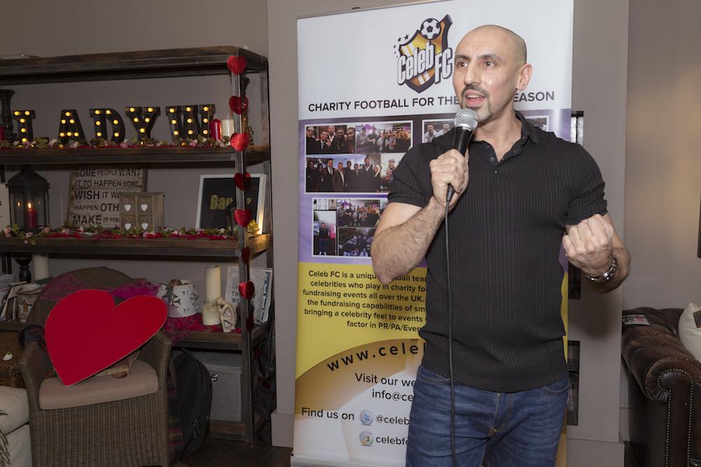 Comedian Sheraz Yousef
