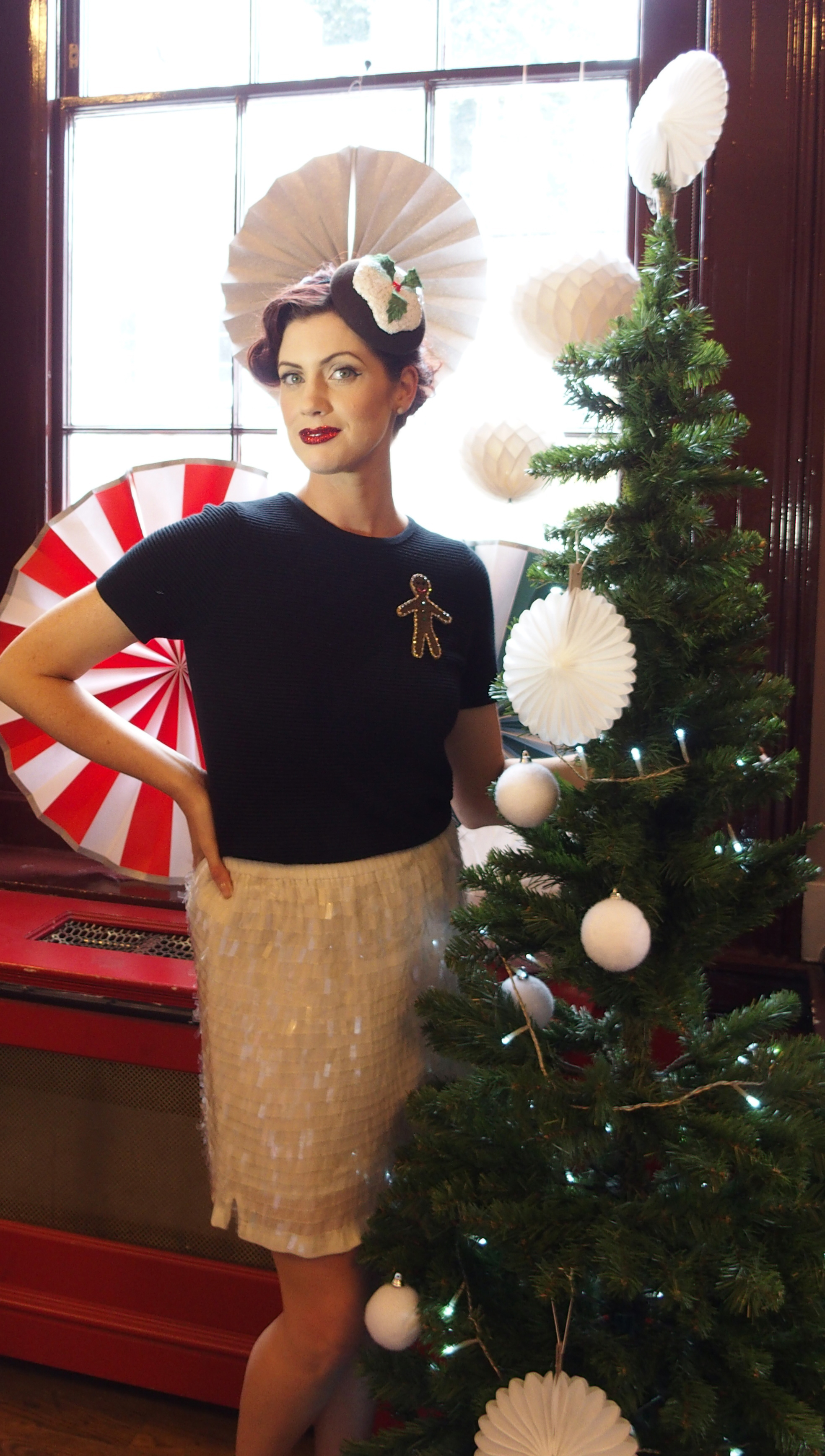 Lady Wimbledon, Bee Smith Millinery, Party, Christmas