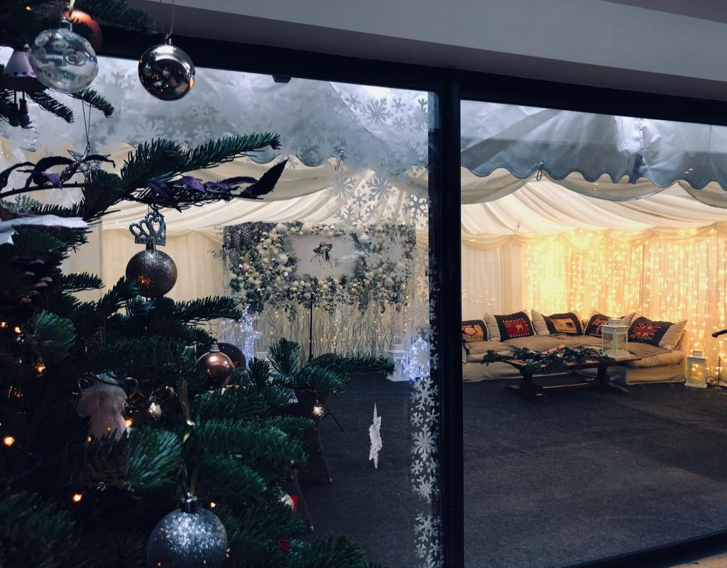 Lady Wimbledon, Pines & Needles, Wimbledon, Christmas
