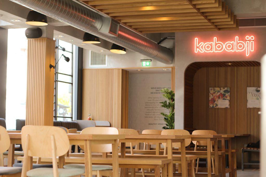 Kababji restaurant interiors, Wimbledon
