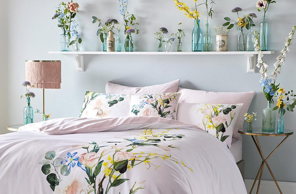 Spring Interiors: floral bedlinen by Ted Baker