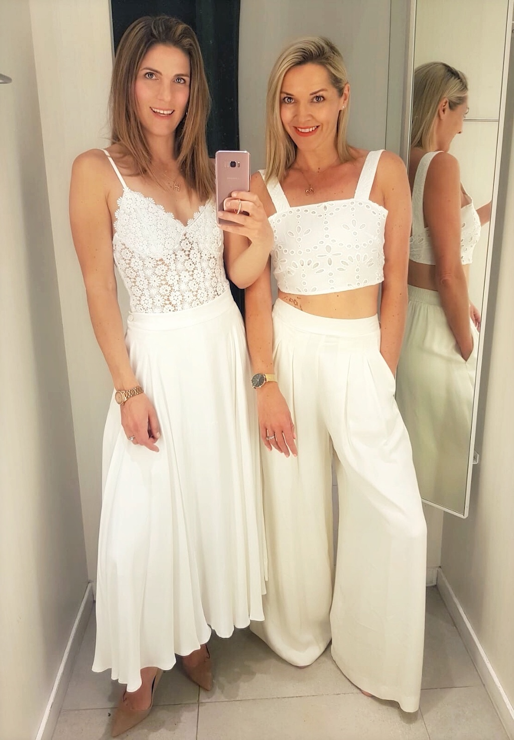 White outfits for summer tennis parties