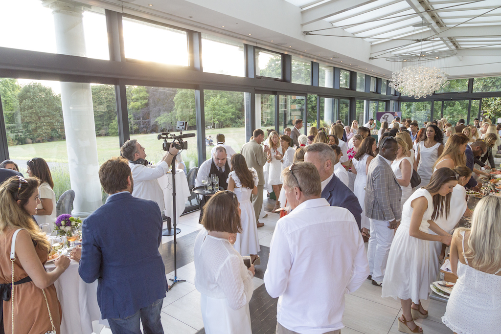 Networking in Wimbledon at Tennis Parties
