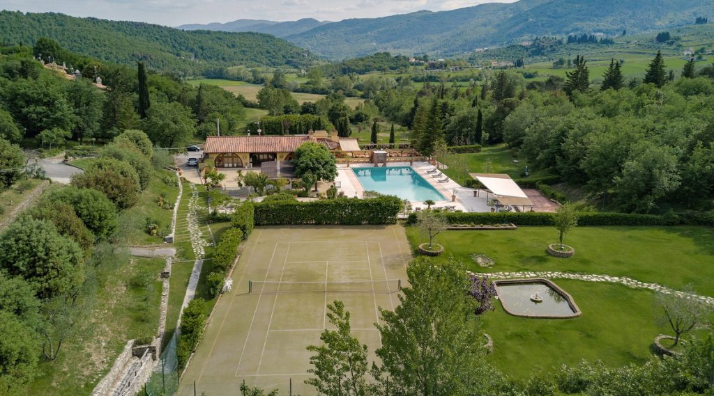 Best Villas With Tennis Courts | Edge Retreats | San Donato, Tuscany