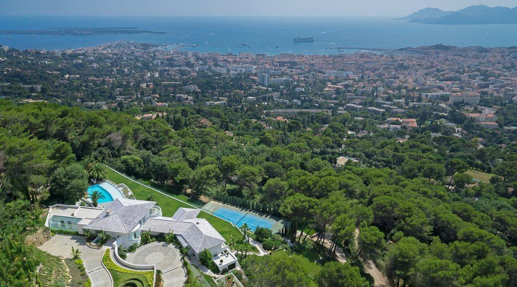 Post-Tennis Holiday Villas | Villa Bleu Cristal, Cannes | Edge Retreats
