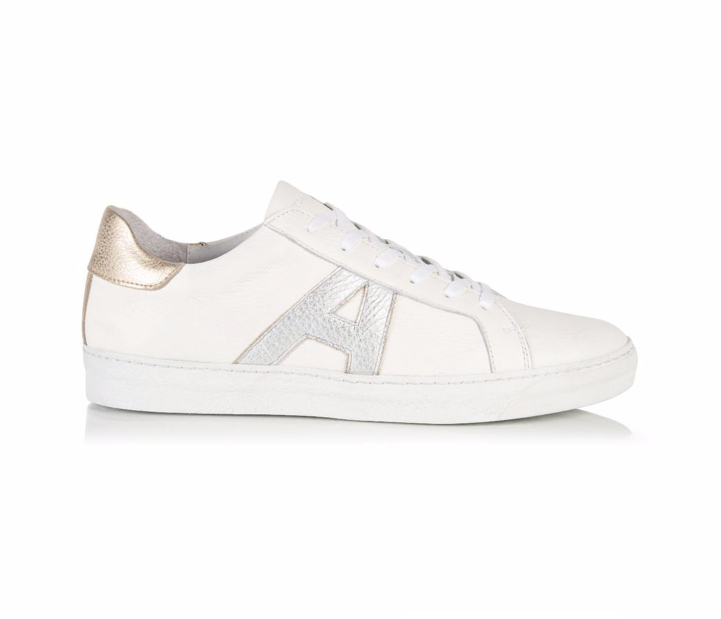 What to wear to Wimbledon: Air & Grace Cru Signature trainers