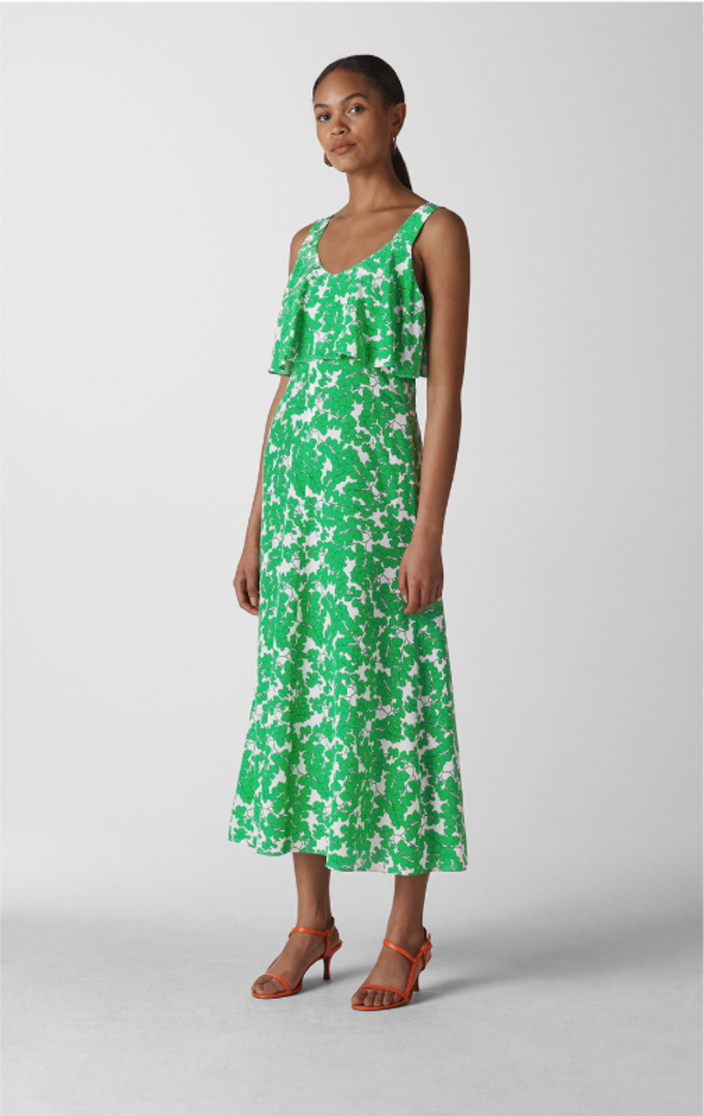 Whistles, Omana Silk Blossom Dress, £229.00