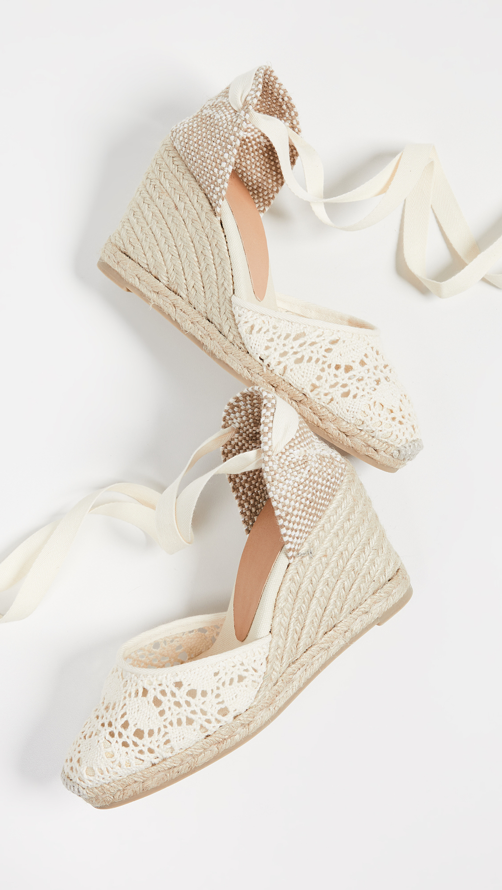 What to wear to Wimbledon: Castaner Wedge Espadrilles
