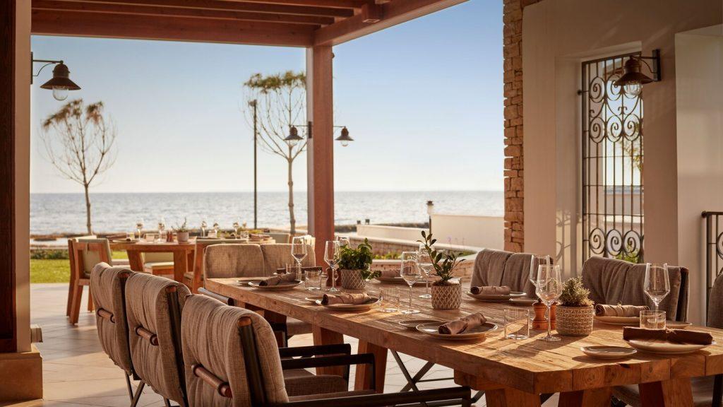 Dafne restaurant, Parklane Resort, Cyprus