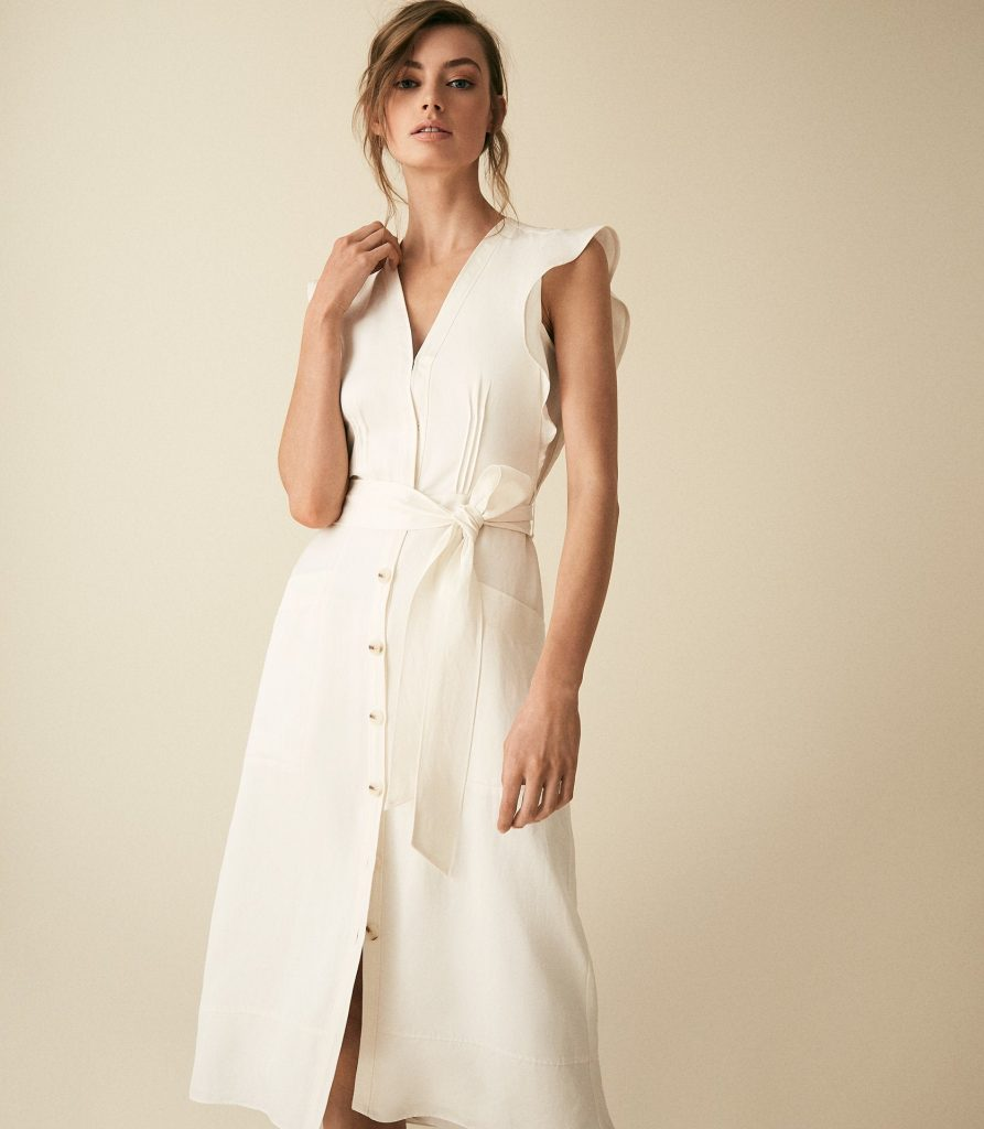 What to wear to WImbledon Finals - white dress