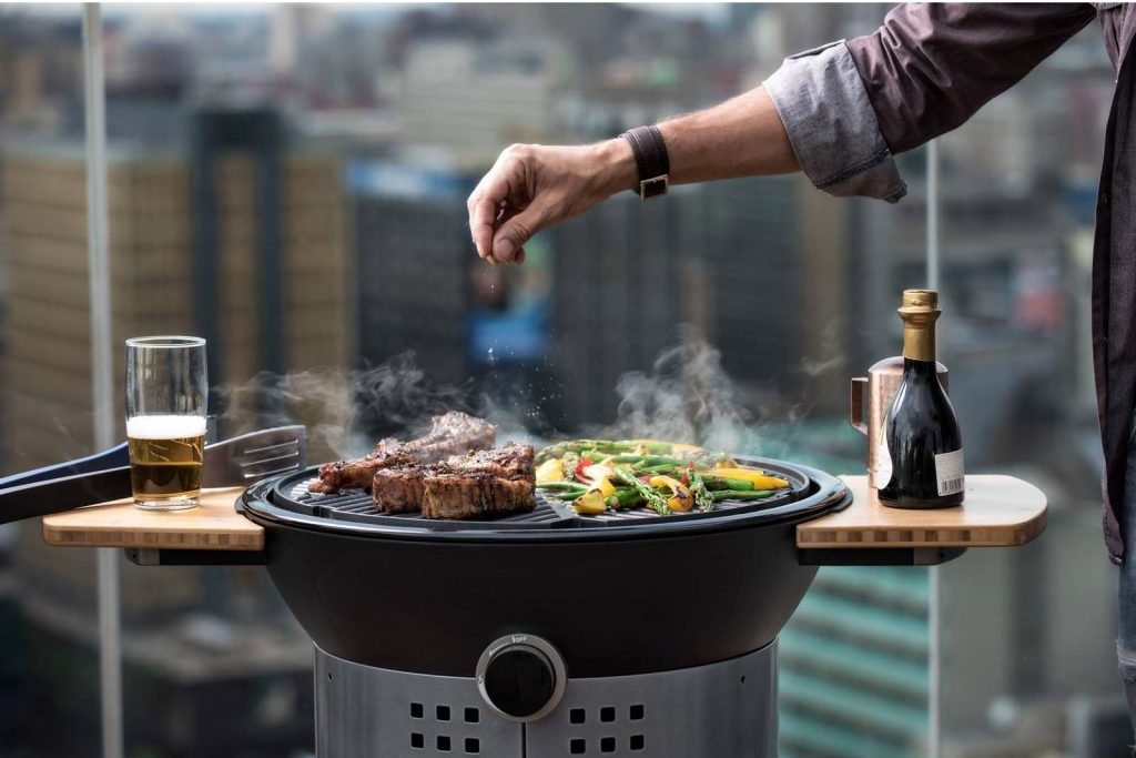 Gas BBQ for small garden spaces