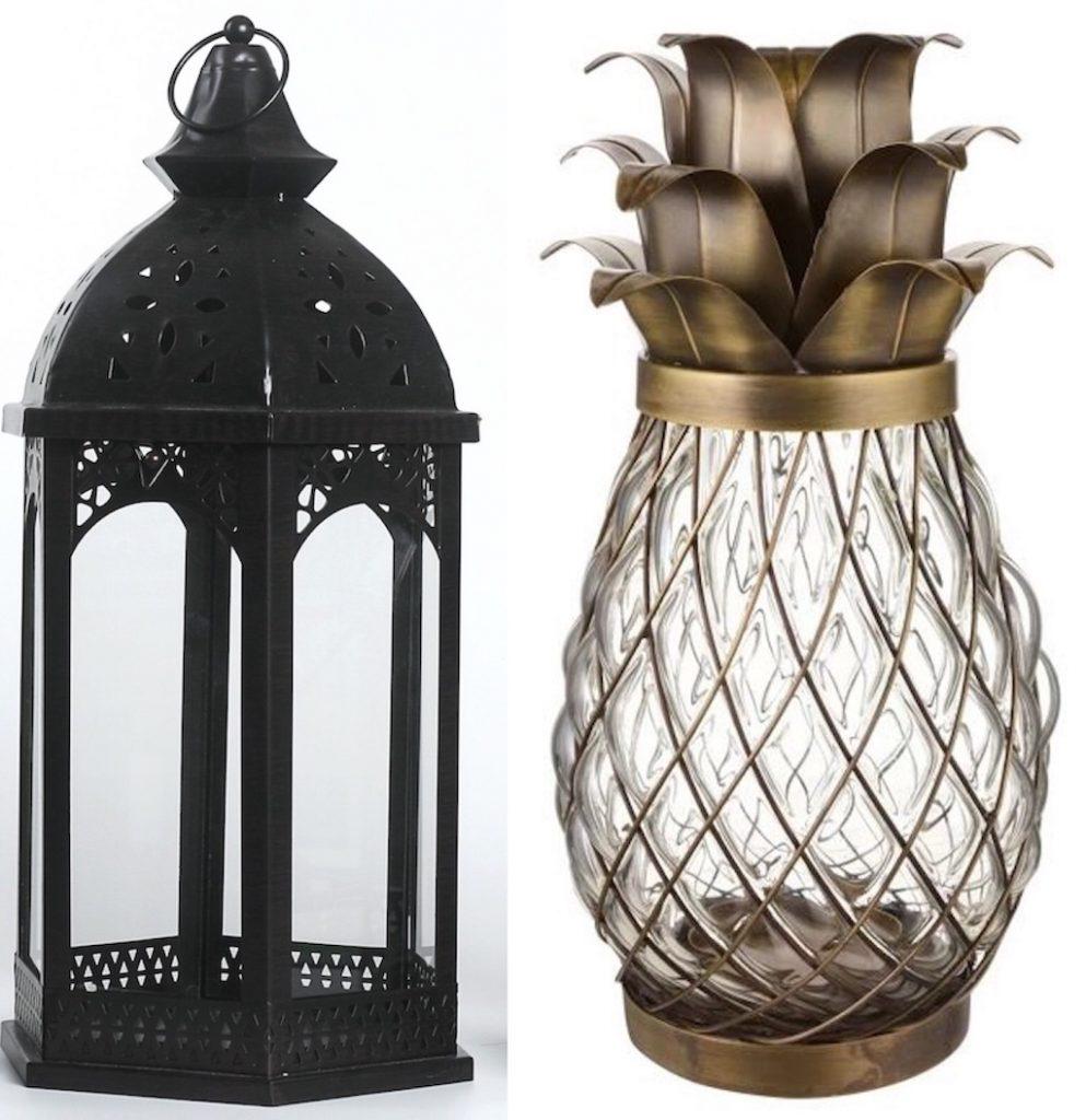 Summer garden party style: outdoor lanterns