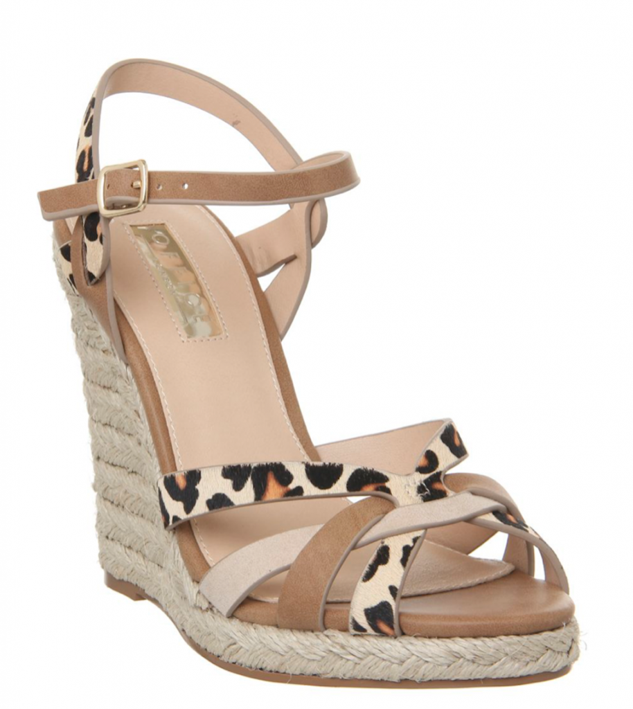 holiday packing tips: summer wedge sandals