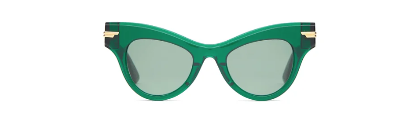 What to wear to Wimbledon tennis finals: Bottega Veneta cat-eye sunglasses