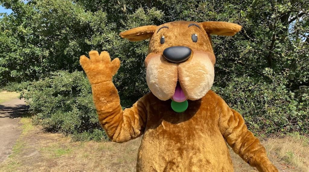 Waggy - Dog Mascot